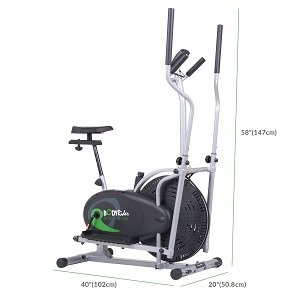 Body Rider Brd2000 Elliptical Dual Trainer Seat Reviews(updated for 2020)